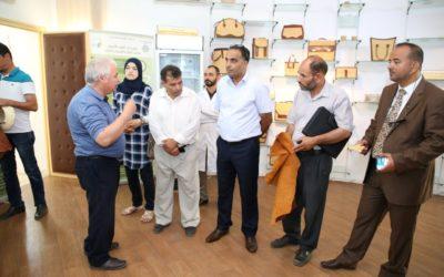 Union Delegation Visits Medenine Arid Zones Institute