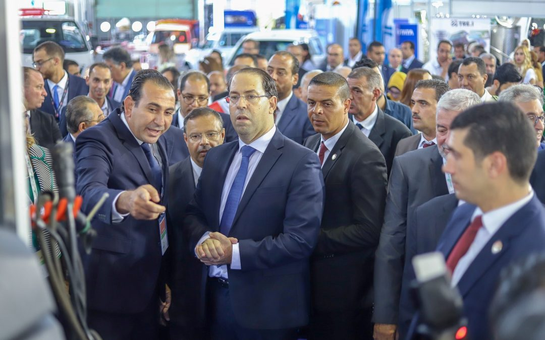 Opening of the International Exhibition of Agriculture and Agricultural Machinery and Maritime Fisheries SIAMAP